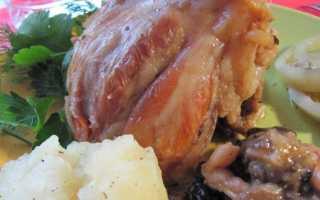 Свиной рябчик в духовке