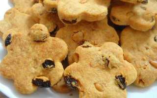 Домашнее сдобное печенье