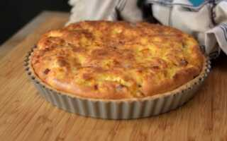 Киш Лорен классический рецепт заливного пирога