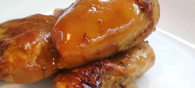 Куриное филе в пикантном маринаде